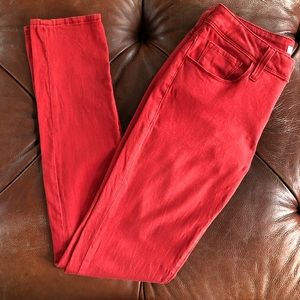 Mavi Alexa Skinny Fit Sunwashed Red Jeans